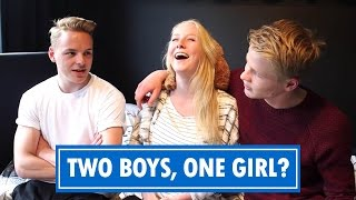 Two Boys, One Girl? - MM OneTaker