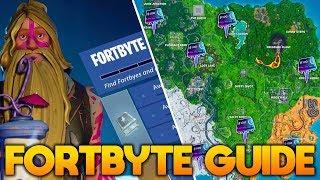 GUIDE TIL ALLE FORTBYTES!! (INDTIL VIDERE) - Dansk Fortnite