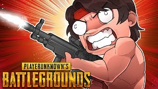 Getting Eliminated By Rambo! (PlayerUnknown