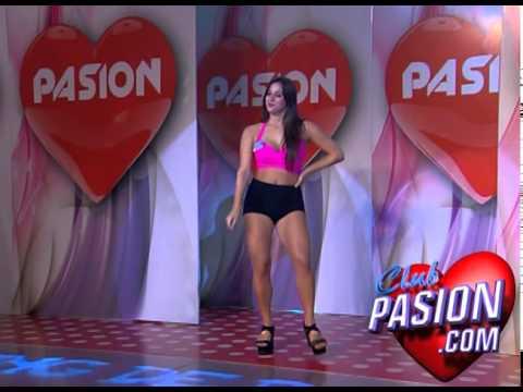 El casting de las bailarinas de Pasion de sabado 3ra semana 4 4 2015
