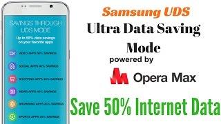 Hindi   Save & Earn Data via Samsung UDS   Powered by Opera Max   Sharmaji Technical