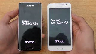 Samsung Galaxy A3 (2016) vs Galaxy A3 (2015) - Speed & Camera Test (4K)