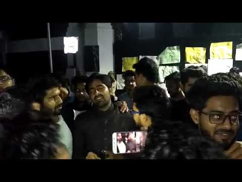 AMU : Students protest after authorities refuse to declare union election dates