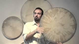 Daf improvisation in 6/8 by Amir Etemadzadeh, Compound meter