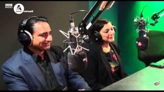 Sanjeev Bhaskar and Meera Syal play Mr & Mrs with Bobby Friction