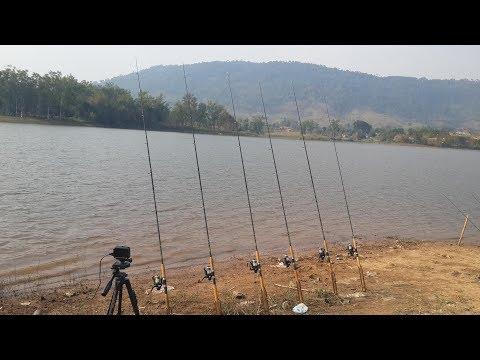 ตกปลา อ่างเก็บน้ำรัตนัย คันหักเลยครับ Fishing Lover EP.23