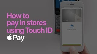 Apple Pay — How to pay with Touch ID on iPhone — Apple
