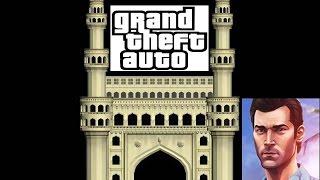 GTA HYDERABAD game in Telugu|| part 1