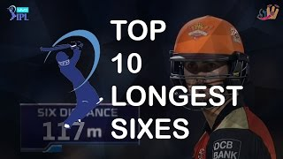 Top 10 Longest Sixes of IPL 2016 | SportzWiki