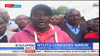 Narok losers in the just concluded elections concede defeat