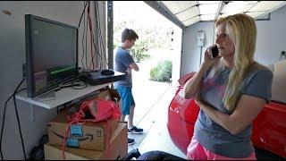 My moms' truck got stolen...  *CAUGHT ON CAMERA*