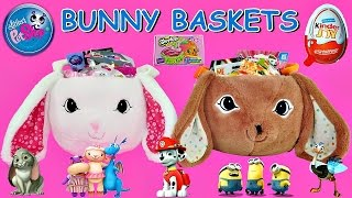 2 Giant EASTER BUNNY Surprise Easter Baskets | Huge Surprise Toy Opening Videos For Kids