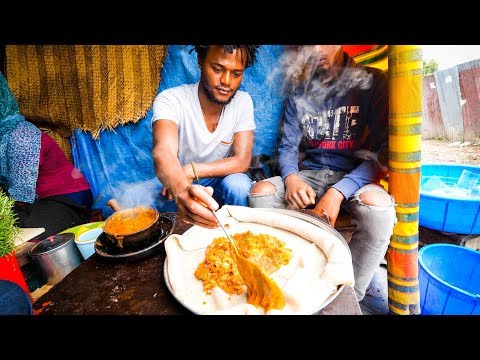 The Ultimate ETHIOPIAN FOOD TOUR Street Food and Restaurants in Addis Ababa Ethiopia