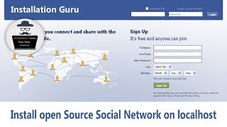 How to make website like Facebook | Create My own Social Networking site on localhost