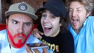 PRANK CALLING PEOPLE BUT WE CANT HEAR THEM!!