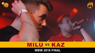 bitwa KAZ vs MILU # WBW 2016 Finał (1/2) # freestyle battle