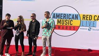 JBalvin Live at American Music Awards 2018 : AMAs 2018