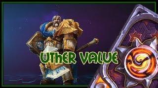 Hearthstone: uther value (control paladin)