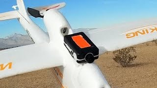 Mini Mobius Small Light HD Aerial Video Camera Flight Test Review
