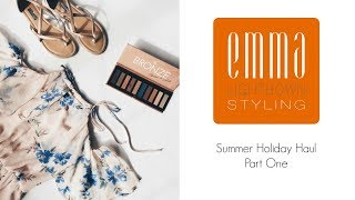 || Summer Holiday Haul - Part One || Emma Lightbown ||