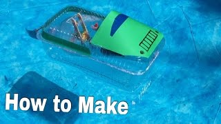 How to Make a Boat - Jet Boat (Electric / Toy) - Tutorial
