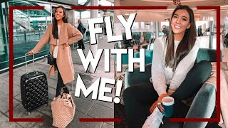 TRAVEL WITH ME TO NEW YORK FOR CHRISTMAS! Vlogmas Day 8