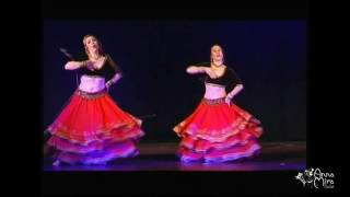 Ghagra- Ye jaawani hai deewani song, tribute to Madhuri Dixit (Cristina y Ava bollywood)