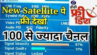 400 Plus free tv channel on the insat 4a 83 east,