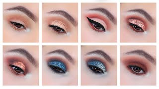 10 Eyeshadow Looks using ONE Palette! ft. Colourpop Dream St. | Nelly Toledo