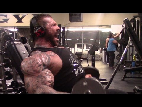 BIGGER BY THE DAY - DAY 55 - 2 HRS OF BI'S - ARMS OVER 24 INCHES - 310LBS