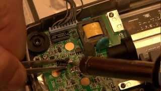 GameGear Reparatur Kondensatoren Schritt für Schritt tauschen.- lange Version