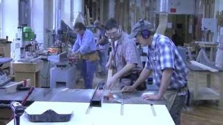 New England School of Architectural Woodworking Class of 2011 Movie