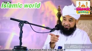 Molna Muhammad raza saqib mustafai new bayan  emotional bayan Islamic world