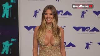 Supermodel Heidi Klum arrives at 2017 MTV Video Music Awards