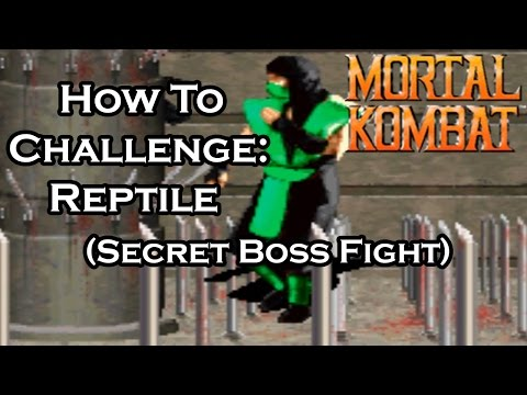 Xxx Mp4 Mortal Kombat 1 Secret Boss Fight How To Challenge Reptile 3gp Sex