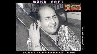 #.0-RAFI SAHAB~Film-CHAKORI-(1949):Dil KI Dil Hi Mein Rahi[ Better Audio ]