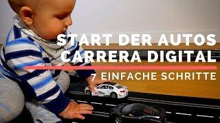 Carrera Digital für Anfänger - Start der Autos, Vorbereitung, Programierung. Tutorial, Anleitung.