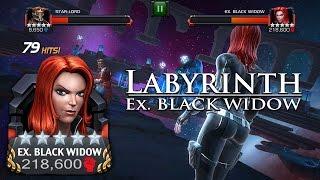 Labyrinth of Legends - Black Widow Path 3 [FULL KILL!!!]