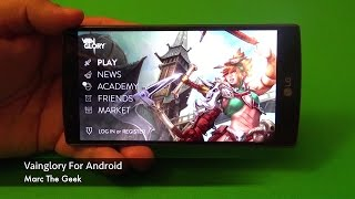 Vainglory for Android Hands On