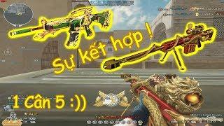 [ Bình Luận CF ] M4A1-S Quan Vũ + Barrett Eternal Dragon ✔ Pino.NTK