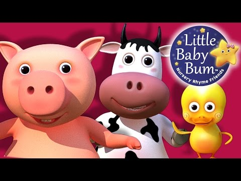 Old MacDonald Had A Farm Nursery Rhymes HD version from LittleBabyBum