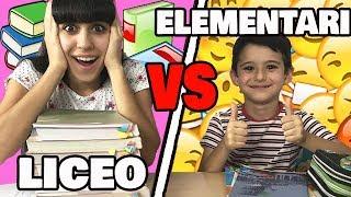 ELEMENTARI VS LICEO - Compiti delle vacanze!!