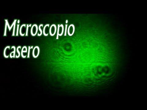 Como armar un Microscopio casero │ Experimento Fácil