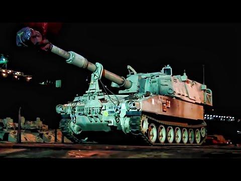 U.S. Army Makes Massive Equipment Move Into Europe