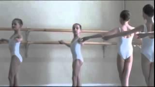 Vaganova Ballet Academy  Classical Dance Exam  Girls 0 class pre entry courses 2011