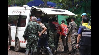 Four boys trapped in Thai cave rescued alive and well   ITV News