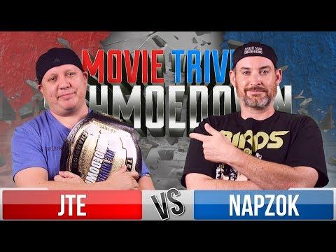 JTE VS Ken Napzok - Movie Trivia Schmoedown