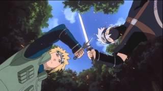 Kakashi Hatake Vs.  Minato Namikaze(Full Fight) [English Subbed] [HD]