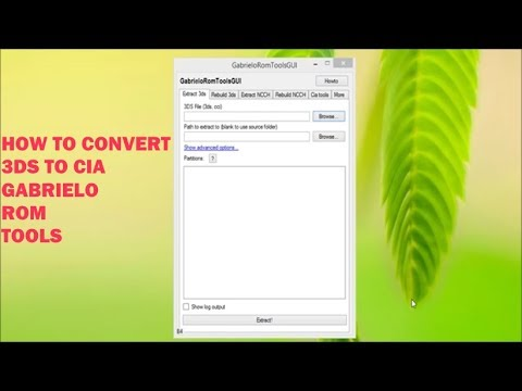 Xxx Mp4 How To Convert A 3ds File To Cia GabrieloRomToolsGUI 3gp Sex