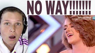 GRACE DAVIES - ROOTS ( The X Factor UK )   REACTION